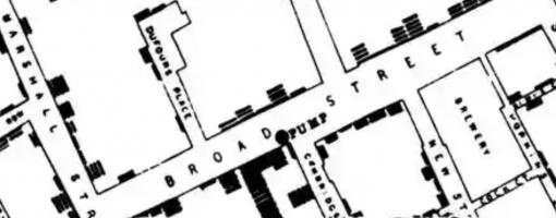 John Snow Cholera Map London